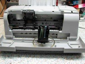 Как правильно промывать печатающие головки принтеров Canon